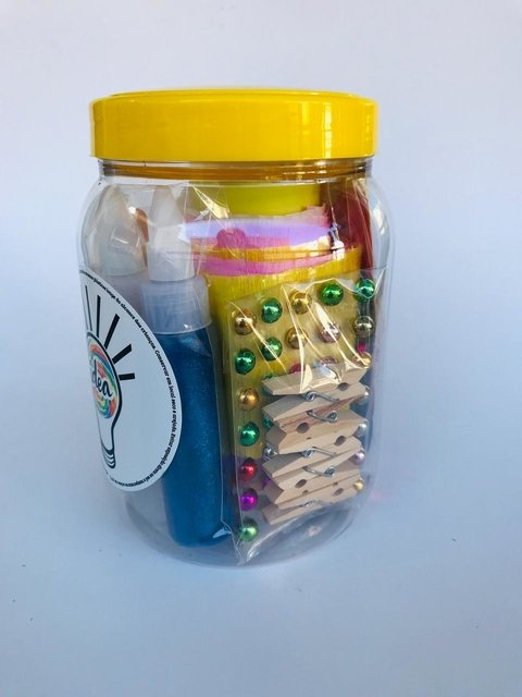 Kit Idea Fantasticamente Mini Glitter - Fantasticamente.Store