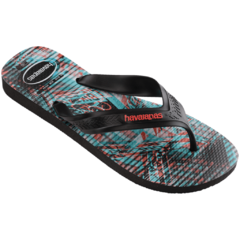 Ojotas Havaianas Top Max Motion Black