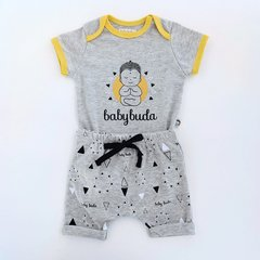 Kit body baby buda + bermuda saruel