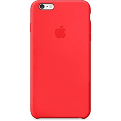 FUNDA IPHONE ORIGINAL ROJA