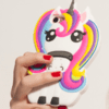 FUNDA ANIMADA LITTLE UNICORN