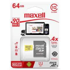 Maxell 64 GB Clase 10 90 MB/s