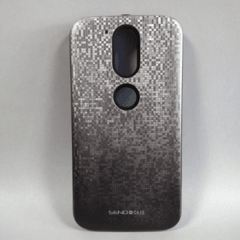 FUNDA PIXEL GRIS DEGRADE