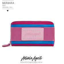 Billetera Barbara Fucsia