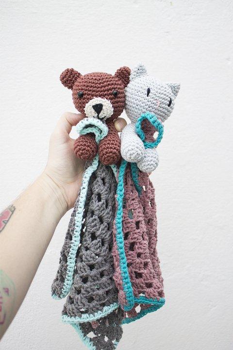 Passa o PAP: Aprenda a fazer um polvo de crochê para bebês! | 720x480