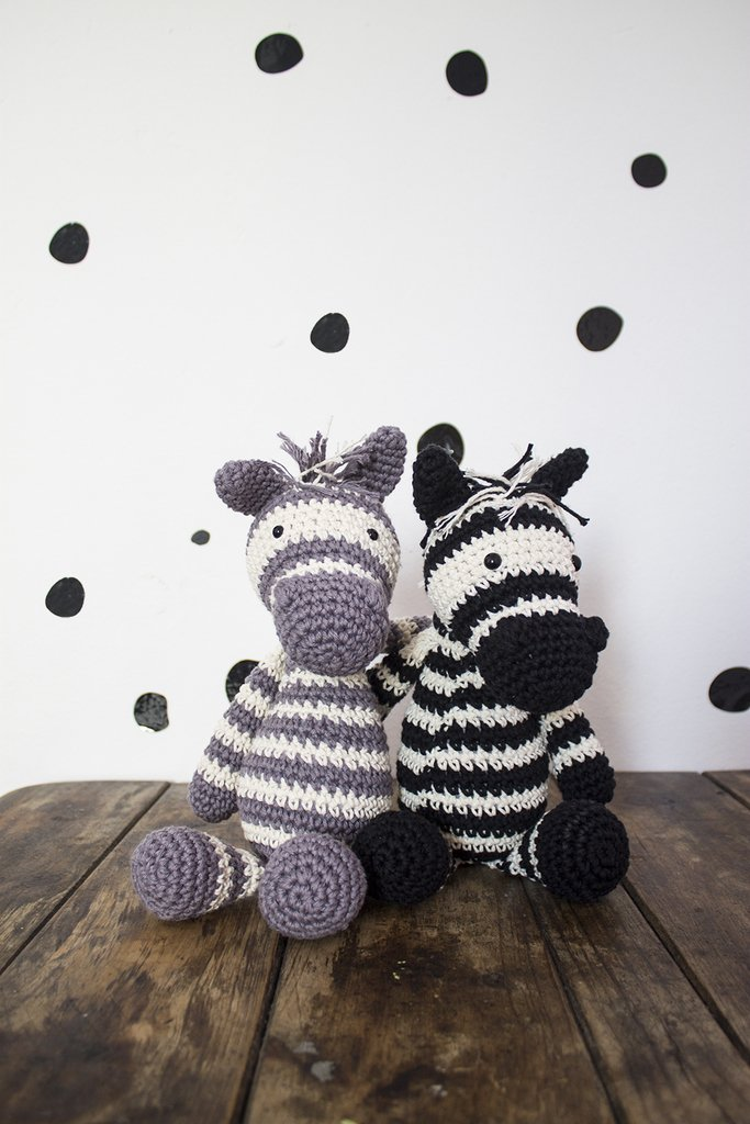 Amigurumi Zebra +de 62 Modelos para Inspirar | Amigurumi de ... | 1024x683