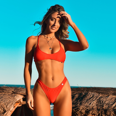 TOP Basic Red - Lulibikinis