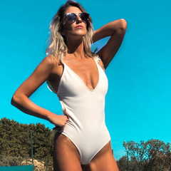 Image of One-Piece White