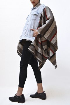 Poncho Flan Mixto by Matriarca - online store