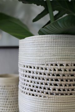Basketry cylinder