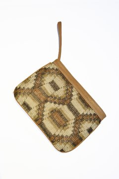 Chaguar and leather clutch - Virginia