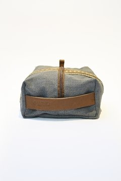 Leather and chaguar travel bag on internet