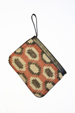 Chaguar and leather clutch - Virginia (