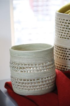 Basketry cylinder on internet