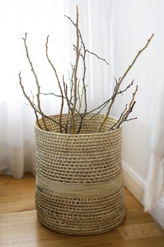 Basketry cylinder - MATRIARCA ARTE NATIVO