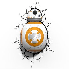 Luminária 3D Light FX - Star Wars BB-8