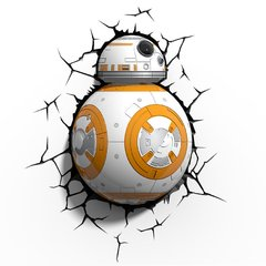 Luminária 3D Light FX - Star Wars BB-8 na internet