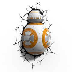 Luminária 3D Light FX - Star Wars BB-8 - NerdTOWN