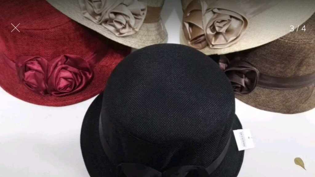 500373e405296 ... comprar online  Chapeu Tipo Cloche Detalhe em Flores na internet ...