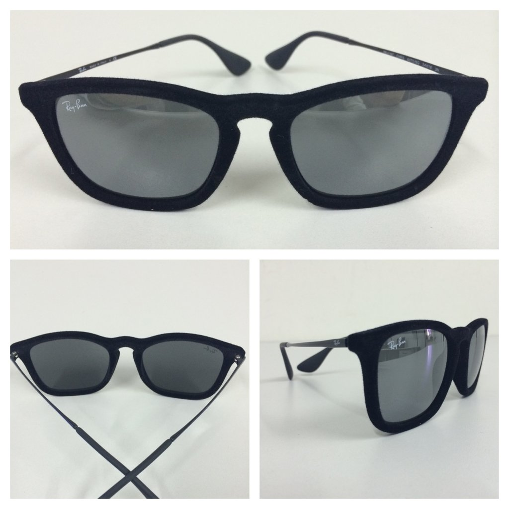 070db7422fd42 Óculos de Sol Ray Ban Chris Veludo
