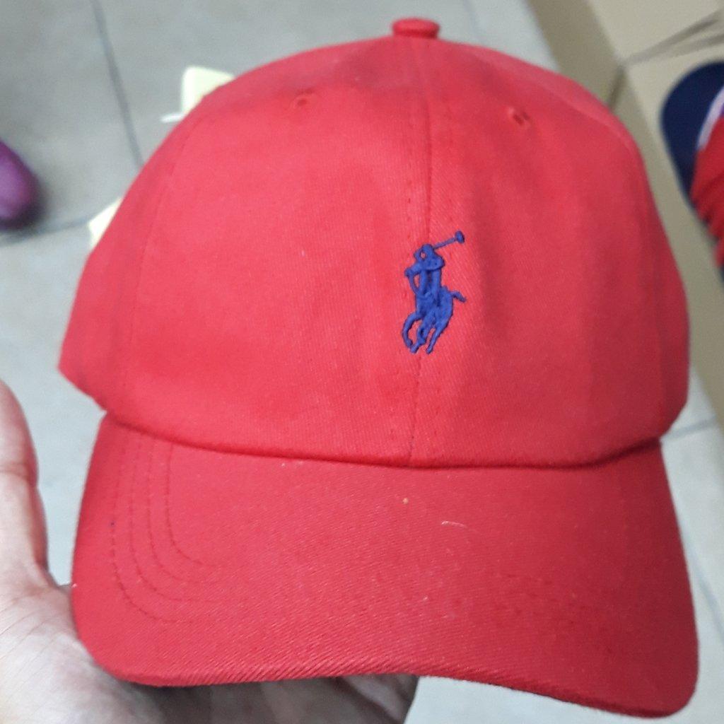 9229b93481c6a Boné Polo Ralph Lauren Red