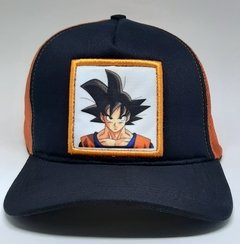 Boné Goku - Dragon Ball Z - Bolso Geek