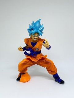 Boneco Dragon Ball - Goku Super Sayajin Blue