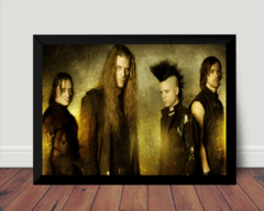 Quadro Foto Gothic Darkwave Banda Diary Of Dreams 42x29cm