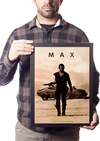 Poster Com Moldura A3 Car Legends Mad Max
