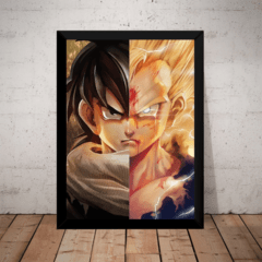 Quadro Art Dragon Ball Z Gohan Split Super Sayajin Cell Saga