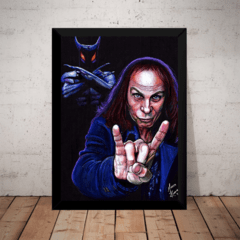 Quadro Banda Dio Dream Evil Rock Classico Metal Arte