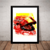 Quadro Decorativo F1 Michael Schumacher Formula 1 Arte