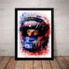 Quadro Decorativo F1 Jenson Button Formula 1 Arte