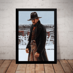 Quadro Decorativo The Gunfighter Arte De James Bama