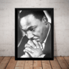 Quadro Decorativo Martin Luther King Foto Arte