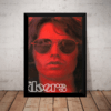 Quadro Banda The Doors Rock Arte Poster Moldurado