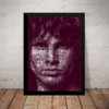 Quadro The Doors Jim Morrison Arte Poster Moldurado