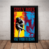 Quadro Guns N' Roses Use Your Illusion Ii Poster Moldurado