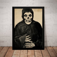 Quadro Decorativo The Crimsom Ghost Terror Horror
