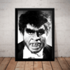 Quadro Horror Famous Monsters Dick Smith 1965 Terror