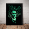 Quadro Decorativo H. P. Lovecraft Arte Cthulhu Terror Horror
