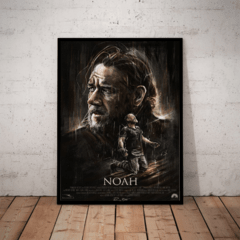 Quadro Decorativo Filme No? Noah Russell Crowe Arte