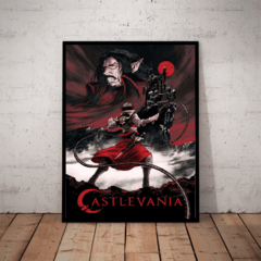 Quadro Decorativo Castlevania Game Serie Netflix
