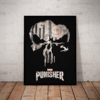 Quadro Decorativo The Punisher Arte Serie O Justiceiro