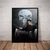 Quadro Decorativo Arte Serie The Punisher O Justiceiro Hq