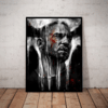 Quadro Decorativo Arte The Punisher Serie Justiceiro Netflix