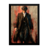 Quadro decorativo arte Thomas Shelby Peaky Blinders 42x29cm