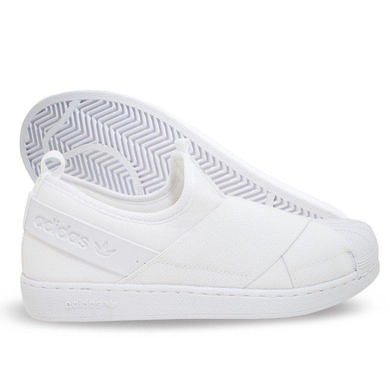 7e17fec2a0b Tênis Adidas Slip On branco - Black Arrow Store