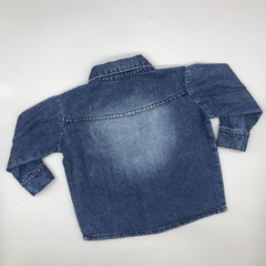 Camisa Pandy Talle 1B (vale 3-6 meses) meses jean oscuro - comprar online