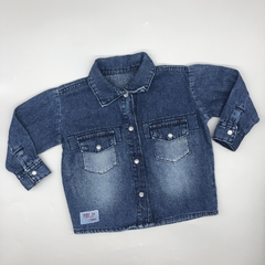 Camisa Pandy Talle 1B (vale 3-6 meses) meses jean oscuro